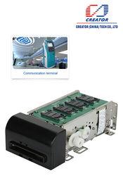 Pembaca kartu magnetik bermotor Insert untuk kios, Smart Card Reader dengan antarmuka RS232